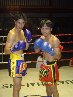 """Boyd"" and ""Manny Pacquiao"" Phillipines Famous Boxer."